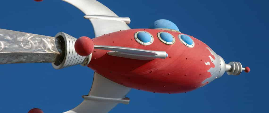 WSA- Fusée en vol