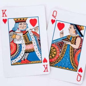 King and Queen of Hearts | Liza Pooor | Being well served