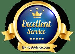 Excellent Service | HostAdvice | Canada Web Hosting