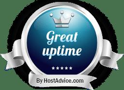 Great Uptime | HostAdvice | Canada Web Hosting
